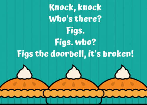Knock Knock Food Joke