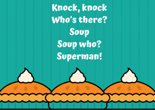 Knock Knock Food Joke For Children