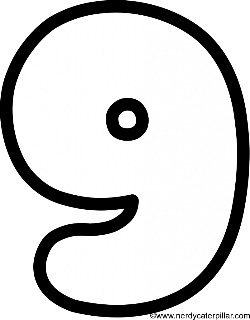 Lowercase Bubble Letter g