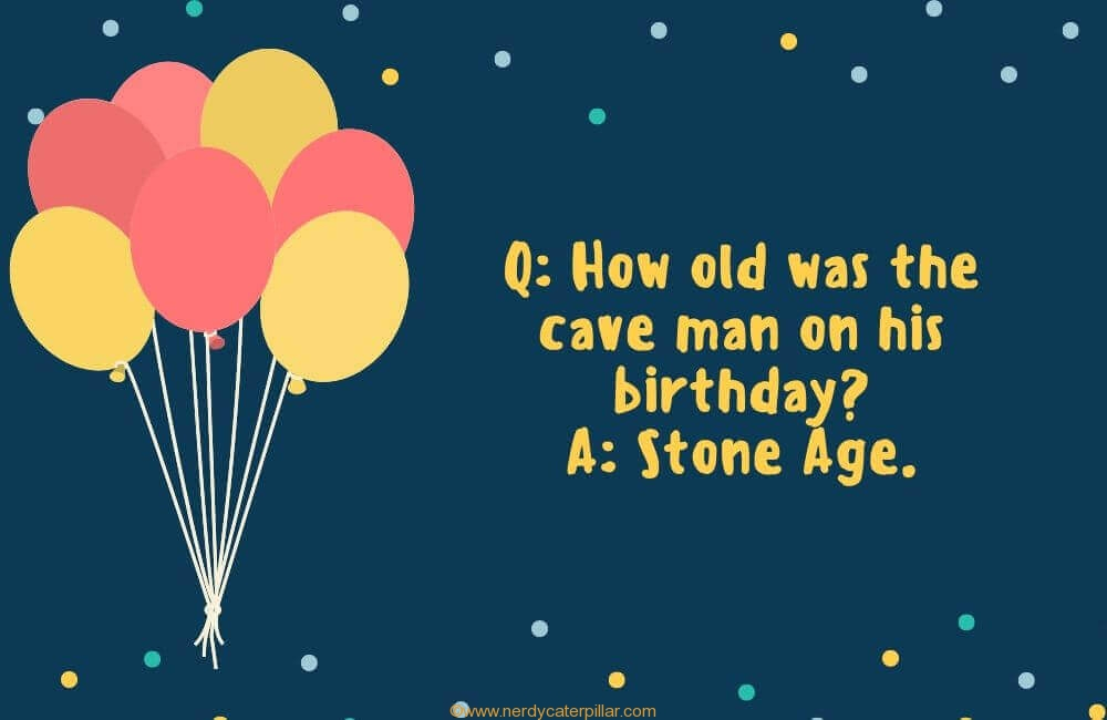 Funny Birthday Joke Kids
