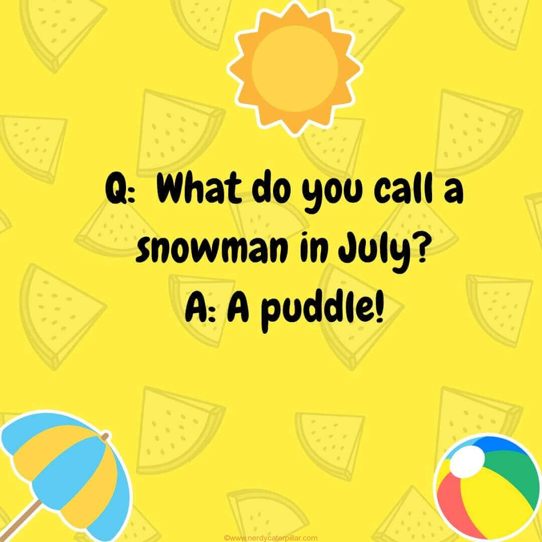 Summer Jokes For Kid