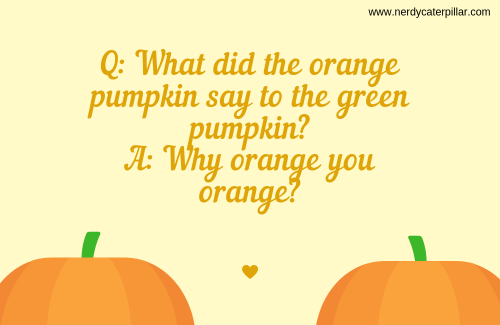 Pumpkin jokes